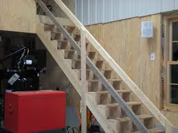 garage stair railing ideas gargage loft stairs ideas the
