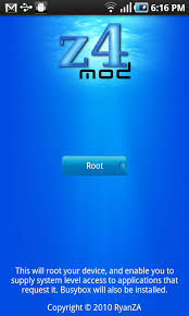 zte root apk froyo root with z4root app