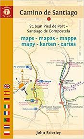 santiago de compostela camino camino de santiago maps st jean pied de port santiago de