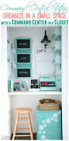 office in a closet and command center inspiration