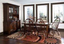 Broyhill Dining Room Broyhill Attic Heirlooms Rustic Oak China Cabinet 5399 65 5399 66
