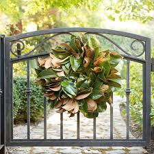 magnolia leaf wreath magnolia wreath front door wreaths magnolia leaf wreath
