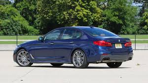 2018 bmw m550i review m5 says what