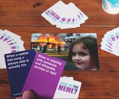 What The Meme - internet meme board games card board game