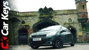peugeot car leasing uk peugeot 208 gti 2016 review car keys youtube