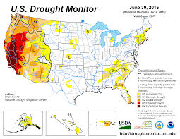 4 Corner States Map by Drought June 2015 State Of The Climate National Centers For