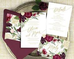 wedding invitations burgundy burgundy and blush wedding invitations burgundy by joyinvitations