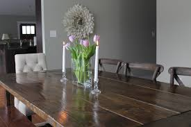 floral centerpieces for kitchen tables simple yet pretty dining room centerpieces zachary horne homes