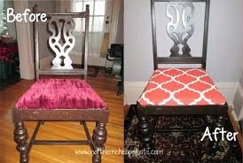 Covering Dining Room Chairs Reupholster Dining Chair Diy Reupholstering Dining Room Chairs