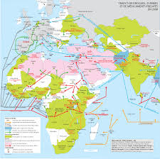 Map Of Africa And Europe by Africa And Its European And Asian Environment By Jean Jolly Of