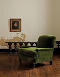 green velvet chair color alert