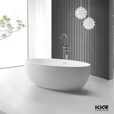 vasca da bagno piccole dimensioni 1450mm di piccole dimensioni ovale design freestanding vasca da