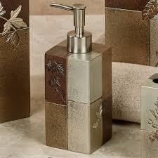 Croscill Bath Accessories by Lancaster Metallic Nature Inspired Bath Accessories By Croscill