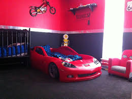 Car Themed Home Decor Levis Room Corvette Bedding Set Just Bought The Kid A New