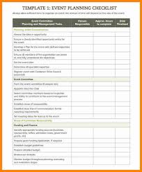 Event Planning Checklist Template Excel 10 Event Planning Timeline Template Excel Resumed