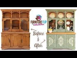 furniture flip transform a french country dining hutch with