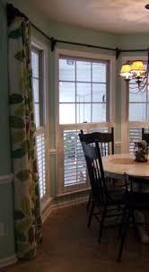easy diy conduit curtain rod living room windows window and