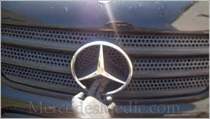 how to upgrade mercedes front grill