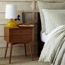 mid century bedside table acorn west elm au