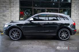 Audi Q5 Off Road - audi q5 with 22in lexani r twelve wheels exclusively from butler
