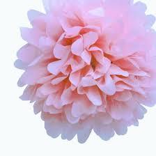 pink tissue paper ez fluff 16 light pink tissue paper pom poms flowers balls