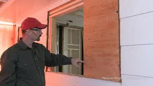 How To Dress A Small Bathroom Window How To Frame In A Smaller Window Opening Youtube