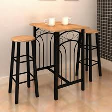 Kitchen Table And 2 Chairs by Breakfast Bar Table And Chairs Sosfund