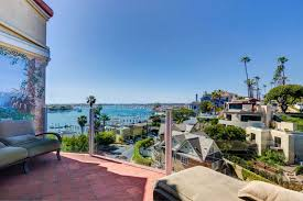corona del mar vacation rental luxury mediterranean villa