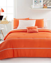 Orange Bed Sets Lacoste Home Thames Orangeade Comforter Set Decor By Color