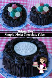 simple moist chocolate cake recipe veena azmanov