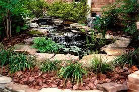 Backyard Waterfall Ideas Triyae Com U003d Backyard Waterfalls And Ponds Kits Various Design