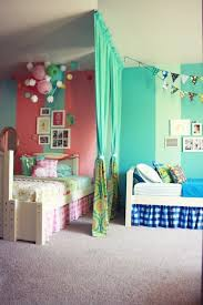 Pink And Green Kids Room by Kids Shared Bedroom 12 Blue And Pink Shared Kids U0027 Rooms