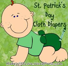 st patrick u0027s day cloth diapers mabe with love