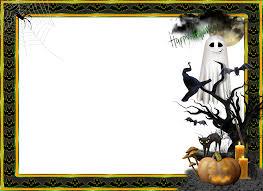 halloween corners transparent background halloween transparent large png photo frame photoshop frame