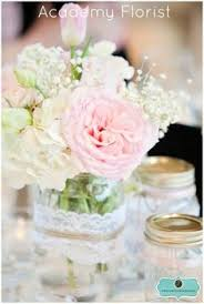 jar arrangements jar arrangement with rustic ribbon gateway church pink