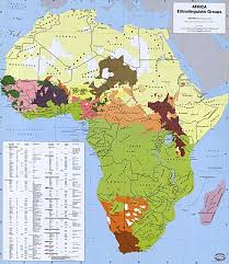 africa map map list of ethnic groups of africa