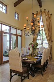 formal window treatments spaces traditional with artistic dining