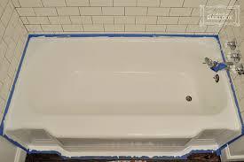 Cast Iron Bathtub Refinishing Diy Bathtub Refinishing Beautiful Matters