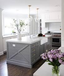 gray kitchen island kitchen island paint color is chelsea gray benjamin via