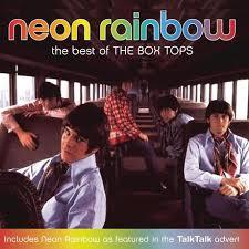 the letter neon rainbow