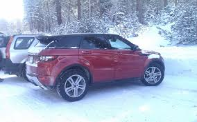 land rover snow 2012 land rover range rove evoque long term update 5 truck trend