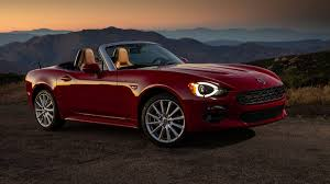 fiat spider vs miata 2017 fiat 124 spider and abarth review with horsepower price and