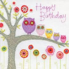 owl birthday card amazon co uk