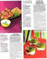 recette cuisine femme actuelle menu ww femme actuelle de janvier 2010 raison et tentation