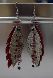 how to make feather earrings how to do something how to make feather earrings