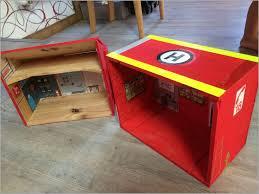 chambre pompier chambre pompier 610531 caserne pompiers playmobil avec des caisses