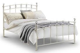 King Size Metal Bed Frames Abdabs Furniture White Metal Bed Frame King Size