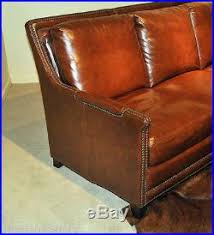 Butterscotch Leather Sofa with Beautiful Antiques Sofas