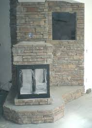 fireplace feature wall images fabricated stone wallpaper tiles
