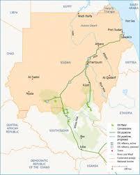 Map Of Sudan Economy Of Sudan
